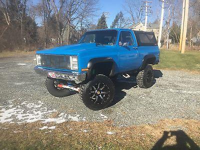 1987 Chevrolet Blazer K5 1987 K5 BLAZER