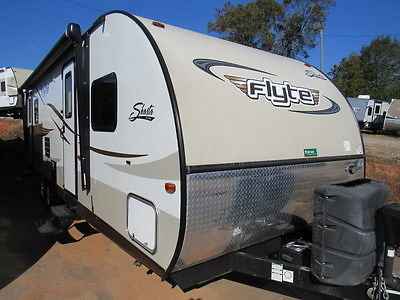CHEAP Shasta Flyte Camper Used trailer Slide electric awn NO repo reserve Jayco