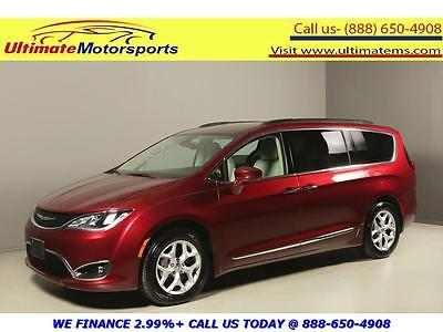 2017 Chrysler Pacifica 2017 CHRYSLER PACIFICA TOURING L LEATHER BLIND HEATSEAT RCAM RED WARRANTY