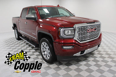 2017 GMC Sierra 1500 Denali Crew Cab Pickup 4-Door NEW 2017 GMC SIERRA 1500 CREW CAB SHORT BOX 4-WHEEL DRIVE DENALI