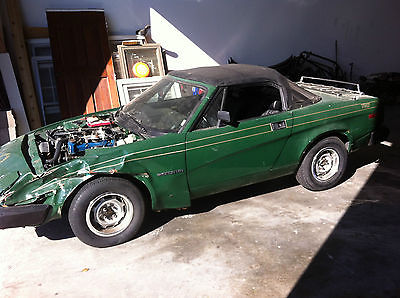 1980 Triumph Other  Triumph TR7 Convertible 1980