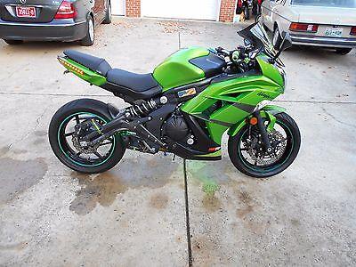 2012 Kawasaki Ninja  KAWASAKI NINJA 650 R