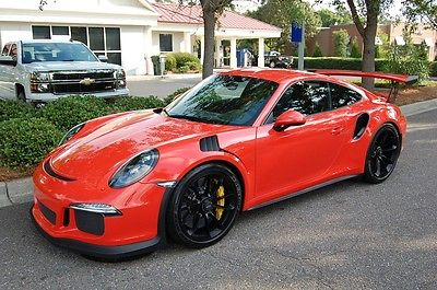 2016 Porsche 911 GT3 RS Coupe 2-Door 2016 911 991 GT3 RS