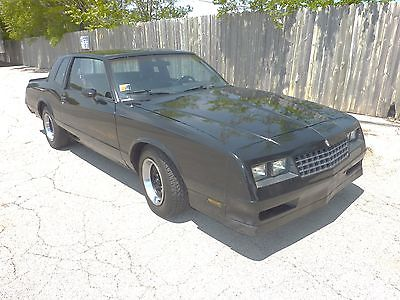 1985 Chevrolet Monte Carlo  Monte Carlo SS 1985, drives ok updated Maintenance New Tires 60s on back