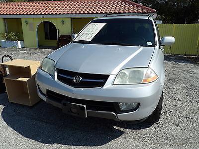 2001 Acura MDX 4 Door with Hatchback 2001 Acura MDX
