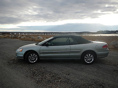 2004 Chrysler Sebring Touring Convertible 2-Door 2004 Chrysler Sebring Touring Convertible 2-Door 2.7L