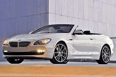 2014 BMW 640i xDrive Base Convertible 2-Door LOADED 2014 BMW 640i xDrive Convertible 2-Door - Excellent condition