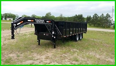 2017 Load Trail 20' Gooseneck Dump New