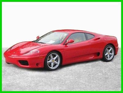 2004 Ferrari 360 6 Speed Manual 2004 6 Speed Manual Used 3.6L V8 40V Manual RWD Premium