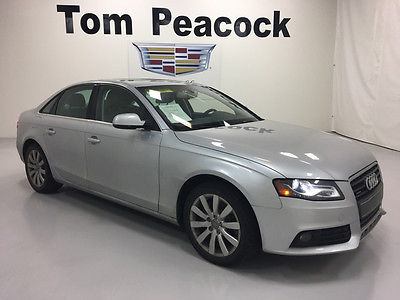 2011 Audi A4 Base Sedan 4-Door 2011 42,830 Miles New Tires Sun Roof Bluetooth Automatic Transmission