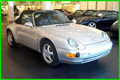 1998 Porsche 911 Carrera 2 Northern California Rust Free 993 Cabriolet. Manual Trans and Right Color Combo
