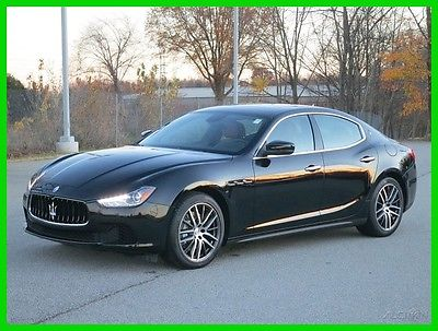 2017 Maserati Ghibli SEDAN 2017 SEDAN Used Turbo 3L V6 24V Automatic RWD Sedan Premium