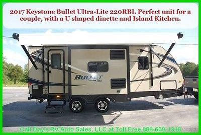 2017 Keystone Bullet Ultra Lite Travel Trailer Bumper Pull Behind Camper NEW RV
