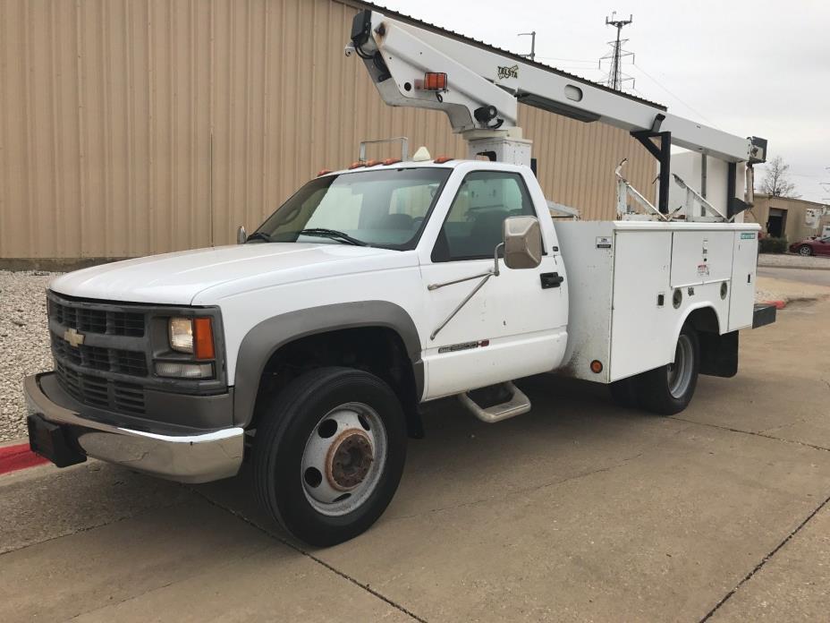 2000 GMC Sierra 3500  2000 GMC C3500HD Service Bucket Truck