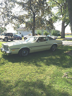 1976 Ford Torino  Ford Grand Torino Elite One owner low miles Rare with factory buckets & console