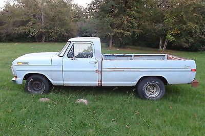 1970 Ford F-100  Ford F-100 Truck - 390 High Performance Engine