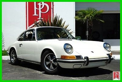 1969 Porsche 911 Coupe 1969 Porsche 911 S coupe, Light Ivory over Black leather, exceptional example