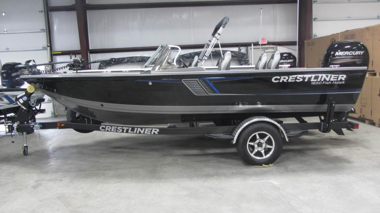 2017 Crestliner 1850DC FISH HAWK