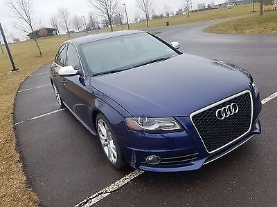2012 Audi S4 Premium 2012 audi s4 b8 manual sport differential giac Clean 46k miles