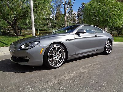 2012 BMW 6-Series 650i 2012 BMW 650I Coupe - Big Options $101k MSRP - CPO Warranty Dec 2018