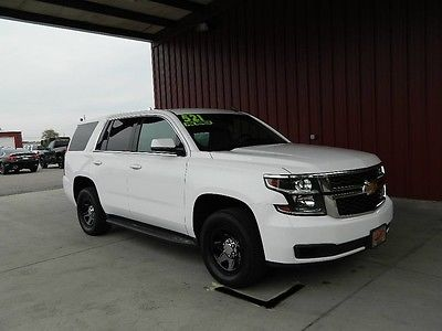 2015 Chevrolet Tahoe PPV Police Package 1 Owner 5.3 V8 2wd Rear Camera 704-965-6546