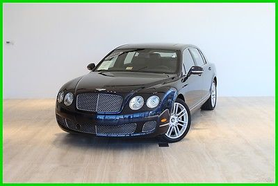 2010 Bentley Continental Flying Spur Flying Spur Sedan 4-Door 2010 Used Turbo 6L W12 48V Automatic AWD Premium