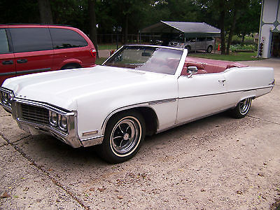1970 Buick Electra All intact except decal on front 1970 buick electra 225 convertible white red 74 900 actual miles price lowered
