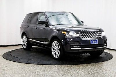 2015 Land Rover Range Rover Supercharged Sport Utility 4-Door 1 Owner Supercharged