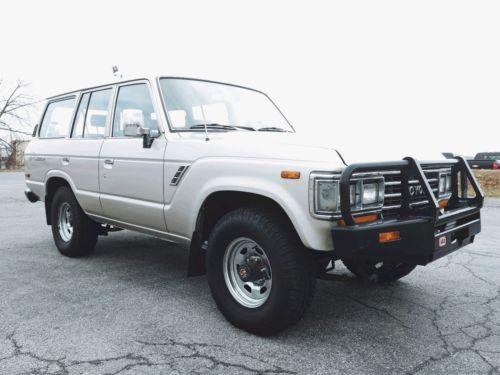 1990 Toyota Land Cruiser GX Toyota Land Cruiser Fj62