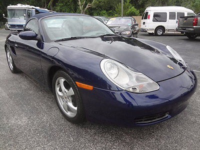 2001 Porsche Boxster Premium 2001 STUNNING BOXSTER SPORTS CONVERTIBLE~36778 LOW MILES~RUNS & LOOKS GREAT~WOW