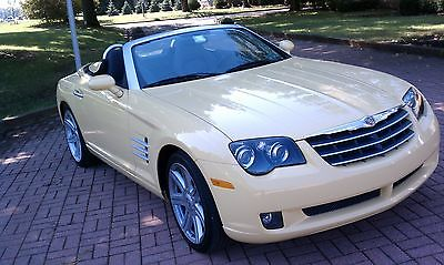 2005 Chrysler Crossfire 2005 Chrysler Crossfire Limited convertible