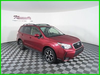 2014 Subaru Forester 2.0XT Premium AWD H4 SUV Panoramic Sunroof Leather 93k Miles 2014 Subaru Forester 4WD SUV Backup Camera USB AUX Bluetooth