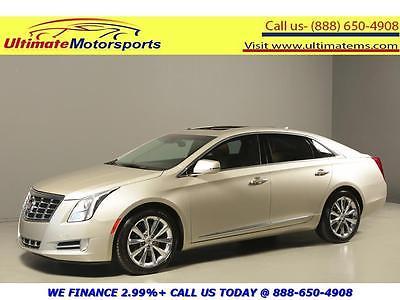 2013 Cadillac XTS Luxury Sedan 4-Door 2013 CADILLAC XTS LUXURY NAV PANO LEATHER LANE COLLISION BEIGE WARRANTY