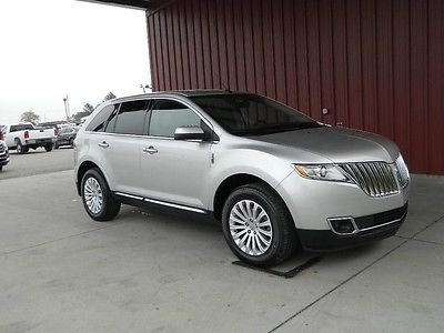 2013 Lincoln MKX Base Sport Utility 4-Door 2013 Lincoln 2WD