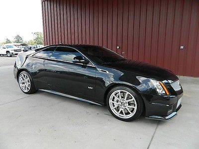 2013 Cadillac CTS V Coupe 2-Door CTS-V 556 Horsepower 6.2 Supercharged V8 Sunroof Navigation New Tires 1 Owner