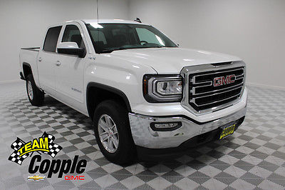 2017 GMC Sierra 1500 SLE Crew Cab Pickup 4-Door NEW 2017 GMC Sierra 1500 Crew Cab Short Box 4-Wheel Drive SLE Value Package