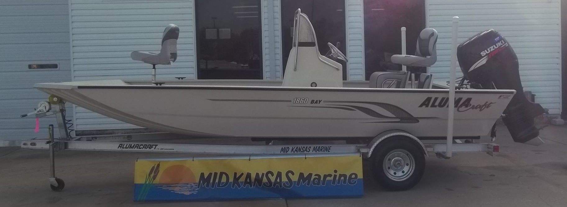 2015 Alumacraft 1860 Bay CC