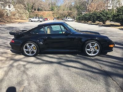 1997 Porsche 911 Turbo S 1997 Porsche Turbo S - VERY RARE - Black on Tan 9,380 miles!