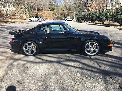 1997 Porsche 911 Turbo S 1997 Porsche Turbo S - VERY RARE - Black on Tan 9,380 miles!