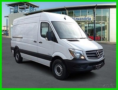 2016 Mercedes-Benz Sprinter High Roof 2500/144 WB 2016  High Roof 2500/144 WB New Turbo Automatic RWD