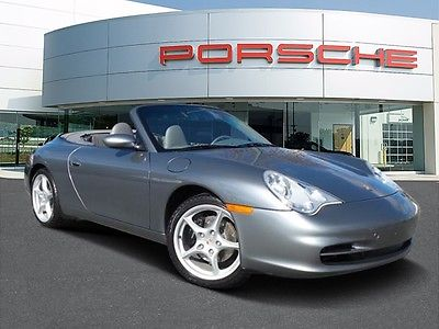 2003 Porsche 911 -- 2003 Porsche 911 Carrera with 27,117 Miles miles Seal Grey Metallic Convertible