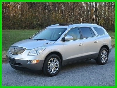 2012 Buick Enclave Premium 2012 Premium Used 3.6L V6 24V Automatic AWD SUV OnStar Bose