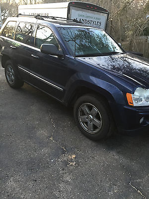 2006 Jeep Grand Cherokee Trail Rated 2006 Jeep Grand Cherokee Limited 4.7L