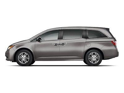 2012 Honda Odyssey 5dr EX-L w/Navi 5dr EX-L w/Navi Low Miles 4 dr Van Gasoline 3.5L V6 Cyl Smoky Topaz Metallic