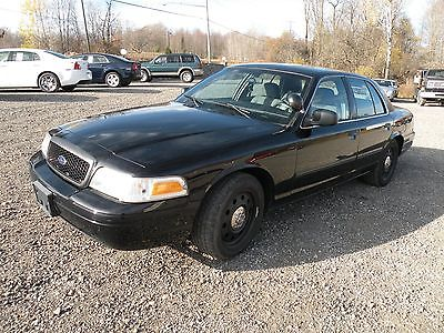 2010 Ford Crown Victoria Police Interceptor Sedan 4-Door Ford FP9 Police Interceptor Corwn Victoria