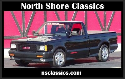 1991 GMC Syclone -RARE-TURBO 6 CYLINDER- BLACK ON BLACK-Clean carfa 1991 GMC Syclone -RARE-TURBO 6 CYLINDER- BLACK ON BLACK-TYPHOON GRAND NATIONAL