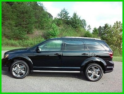 2016 Dodge Journey Crossroad NEW 2016 DODGE JOURNEY TV/DVD LEATHER 3RD ROW - FREE SHIP - $368 P/MO, $200 DOWN
