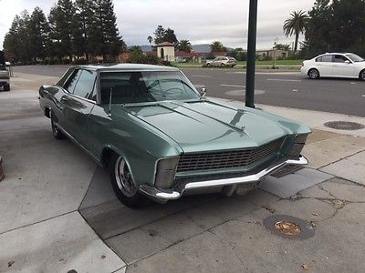 1965 Buick Riviera Gran Sport 1965 Buick Riviera Gran Sport Very Rare  Numbers Matching Seafoam!
