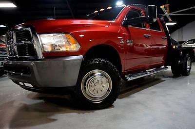 2012 Ram Ram Pickup 3500 ST 4x4 4dr Crew Cab 8 ft. LB Pickup 2012 RAM Ram Pickup 3500 6.7L CUMMINS DIESEL 4X4 DPF-DELETE 138,175 Miles Burgun