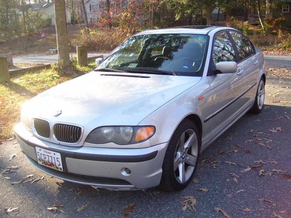2004 BMW 3-Series Base Sedan 4-Door 2004 BMW 3-Series Base Sedan 4-Door